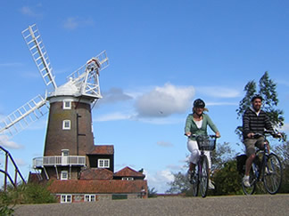 Explore and Discover Norfolk and Suffolk with a cycle break