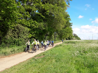 Great group cycling holidays fun UK Cycle Holidays