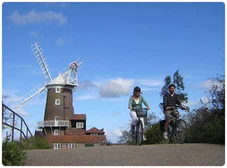 UK Cycling Holidays provide great cycling breaks with great scenery
