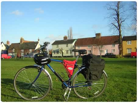 cycling holiday with panniers