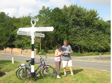 Fully guided holiday with UK Cycle Holidays