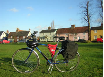 Pannier self carry holidays with UK Cycling Holidays